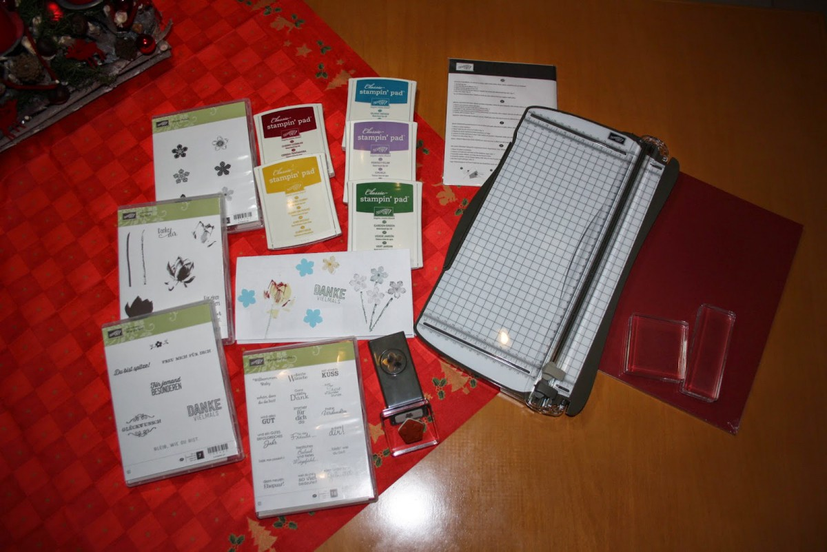 Starterpaket für die Kartengestaltung eingetroffen!